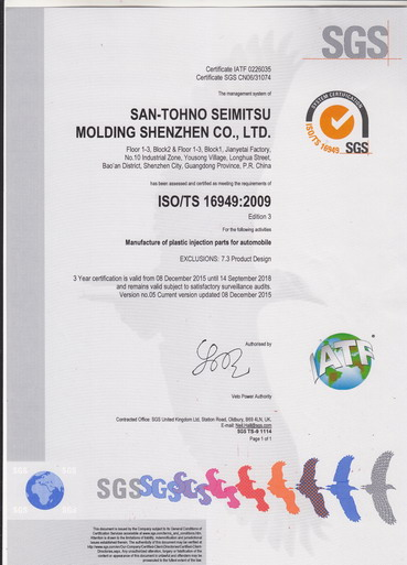 ISO/TS 16949:2009汽车行业质量管理体系认证